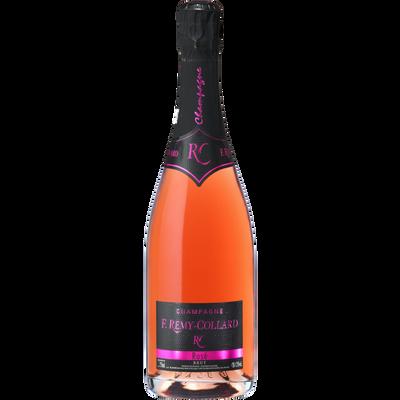 Champagne rosé AOC 12,5° F.REMY COLLARD,  bouteille de 75cl