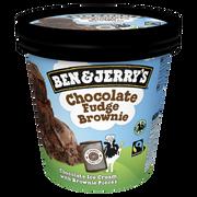 Ben & Jerry's Glace Chocolate Fudge Brownie Ben & Jerry's Pot 408g