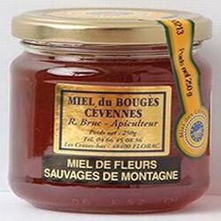 Miel de fleurs sauvages de montagne du Bouges Cévennes, 250g