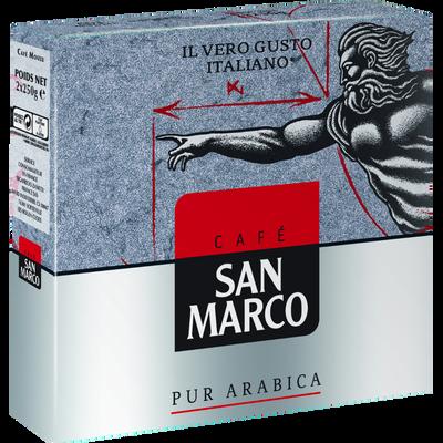 Café moulu SAN MARCO, 2 paquets de 250g