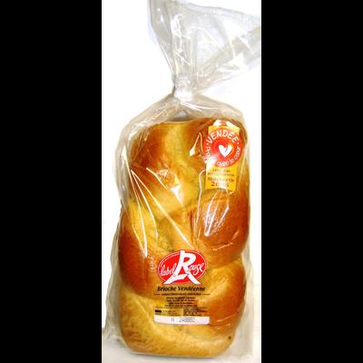 Brioche tressée pur beurre, LABEL ROUGE, 600g
