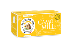 CAMOMILLE, 30G - LES 2 MARMOTTES
