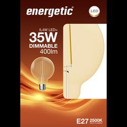 Led déco globe 35w e27 doré ENERGETIC-5,4w-380ml-2500k