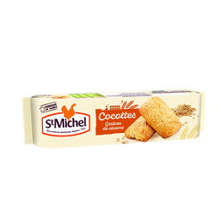 Biscuits Cocottes aux céréales et graines ST MICHEL, 140g