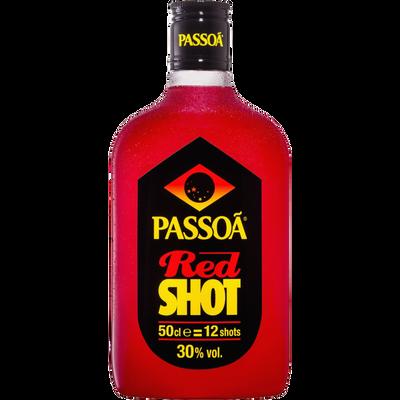 Liqueur red shot PASSOA, 30°, bouteille de 50cl