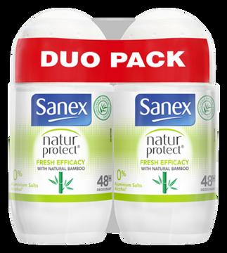 Sanex Sanex Natur Protect Deodorant Ro Bamboo Fresh Effic 2x50ml