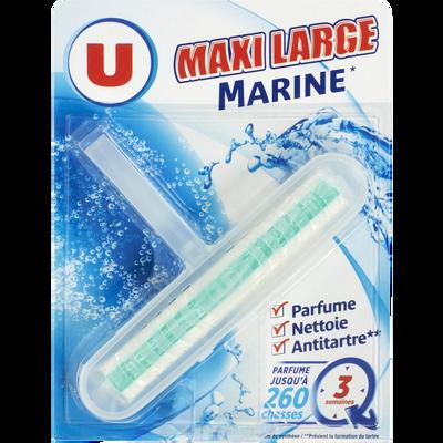 Bloc wc maxi large parfum marine U