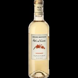 Vin blanc du Pays d'Oc IGP Art de Vivre Viognier, 75cl