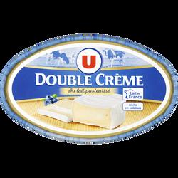 Fromage double crème au lait pasteurisé U, 30% MG, 200g