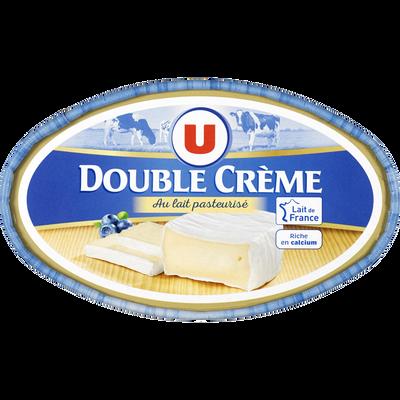 Fromage double crème au lait pasteurisé U, 30% de MG, 200g