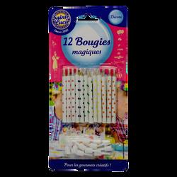 Bougies magiques SAINTE LUCIE, x12