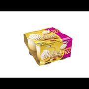 Nestlé Dessert Lacté Goût Vanille Sur Lit De Caramel Viennois, 4x100g Offre Économique