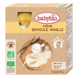Crème Semoule Vanille