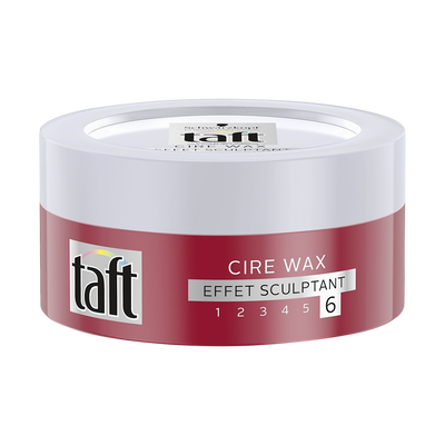 Cire wax effet sculptant 6 styling TAFT, pot de 75ml