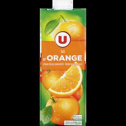 Jus à base de concentré d'orange U, 1l