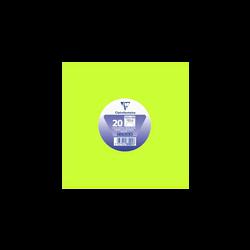 Enveloppe gommée carrée CLAIREFONTAINE, 165x165mm, vert bourgeon, 20 unités