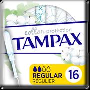 Tampax Tampon 100% Coton Organic Regulier Tampax, X16