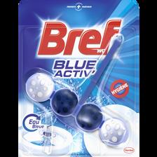 Bloc cuvette Blue Activ' hygiène BREF WC, 50g
