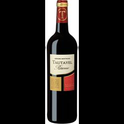Vin rouge AOP Côtes du Roussillon Villages Tautavel réserve, 75cl