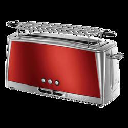 Grille pain RUSSEL HOBBS luna 23250-56 1420w rouge