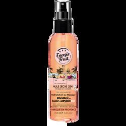 Huile sèche 2en1 pour le corps hydratation ou massage monoï et huile argan ENERGIE FRUIT, spray de 150ml
