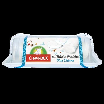 Chavroux Fromage Lait De Chèvre Bûche Fraîche Nature Chavroux, 23%mg, 150g