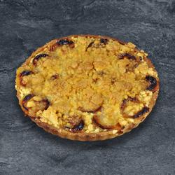 Tarte abricots crumble, 6 parts, 600g