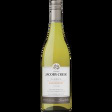 Vin d'Australie blanc Chardonnay JACOB'S Creek, bouteille de 75cl