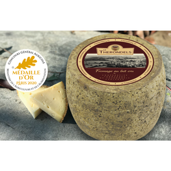 Fromage Le therondels, lait cru, 33%MG