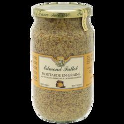Moutarde en grains EDMOND FALLOT, bocal 85cl