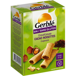 Biscuits sans gluten Crousti' Pause GERBLE, 125g