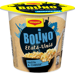 Bolino Etats Unis pâtes fromage MAGGI, 78g