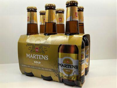 BIERE MARTENS GOLD BTL 25CL X6