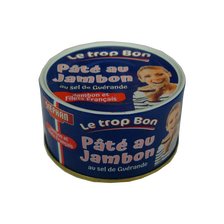 Pâté au jambon au sel de Guérande, STEPHAN, 125g