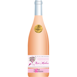 Vin rosé IGP moelleux un vin des hommes, 75cl