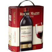 Roche Mazet Vin Rouge Igp De Pays D'oc Cabernet Sauvignon Roche Mazet, Fontaine Àvin De 3l