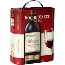 Roche Mazet Vin Rouge Igp De Pays D'oc Cabernet Sauvignon , Fontaine Àvin De 3l
