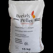 GRANULES BREIZH PELLETS 15KG-100% RESINEUX-QUALITE PREMIUM