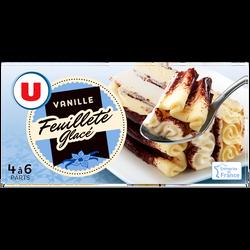 Feuilleté glacé vanille U, 321g