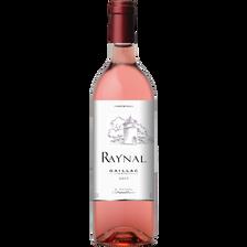 Vin rosé Gaillac Raynal, bouteille de 75cl