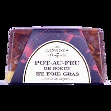Pot au feu de boeuf et foie gras GRAND AUGUSTE, 330g