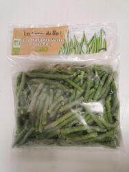 Haricots verts très fins 450g, Les Givrés du bio