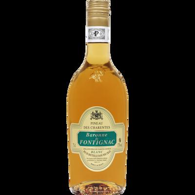 Vin blanc Pineau des Charentes Baronne de Fontignac U, bouteille de 75cl