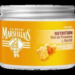 Masque cheveux secs cassants karité/miel nutrition LE PETIT MARSEILLAIS 300ml