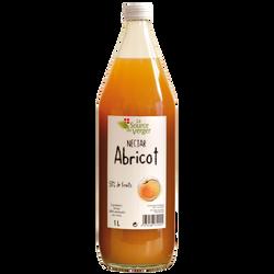 Nectar d'abricot LA SOURCE DU VERGE, bouteille 1l