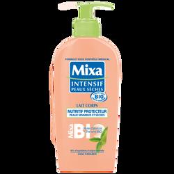 Lait corps nutritif protecteur pour peaux sèches et sensibles MIXA BIO, 250ml