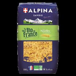 Nouilles Savoisiennes bio ALPINA SAVOIE, paquet de 500g