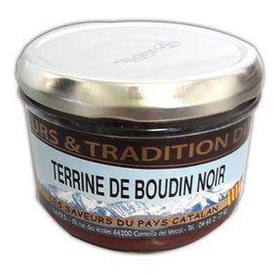 Terrine de Boudon Noir, Bocal de 190g, SAVEURS & TRADITION DU MIDI