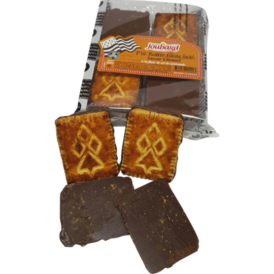 P'tit beurre breton cacao lactée saveur caramel fleur de sel, BISCUITERIE JOUBARD, 330g
