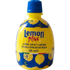 Eurofood Citron Jaune Pressé Lemon Plus,12,5cl